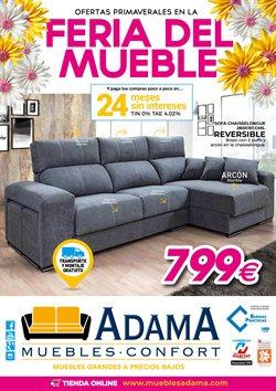 Ofertas de Adama Muebles  en el folleto de Madrid