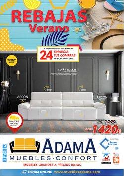 Ofertas de Adama Muebles en el catálogo de Adama Muebles ( 7 días más)