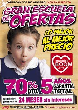 Ofertas de Muebles Boom  en el folleto de Barcelona