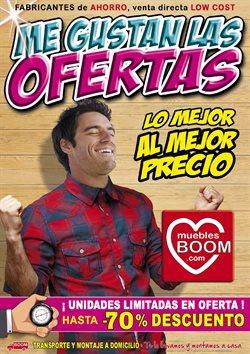 Ofertas de Hogar y muebles  en el folleto de Muebles Boom en Madrid
