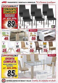 Ofertas de Silla de comedor  en el folleto de Muebles Boom en Madrid