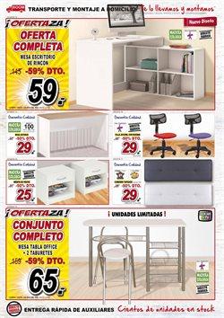 Ofertas de Cabecero  en el folleto de Muebles Boom en Bilbao