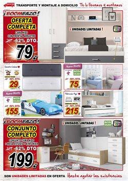 Ofertas de Dormitorios  en el folleto de Muebles Boom en Alcalá de Henares