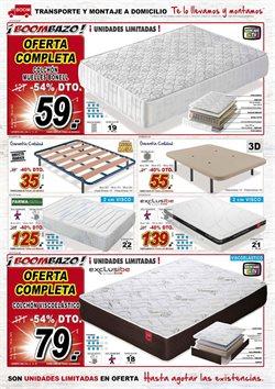 Ofertas de Colchones  en el folleto de Muebles Boom en Madrid