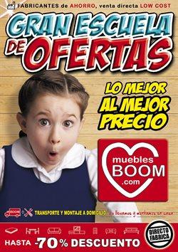 Ofertas de Hogar y muebles  en el folleto de Muebles Boom en Valladolid