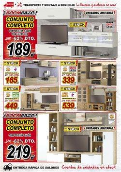 Ofertas de Mueble tv  en el folleto de Muebles Boom en Madrid