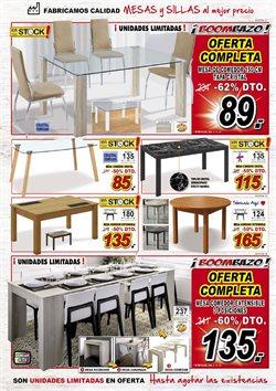 Ofertas de Mesa de comedor  en el folleto de Muebles Boom en Madrid