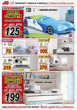 Ofertas de Dormitorio juvenil  en el folleto de Muebles Boom en Barcelona
