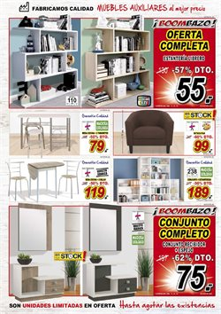 Ofertas de Estanterías  en el folleto de Muebles Boom en Paterna