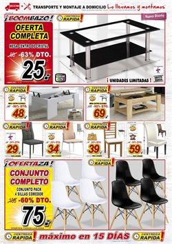 Ofertas de Mesa de centro  en el folleto de Muebles Boom en Madrid