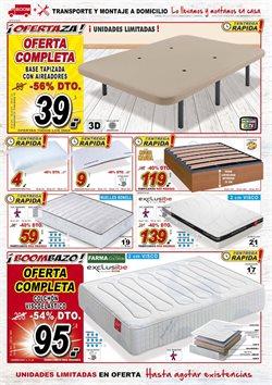 Ofertas de Canapé abatible  en el folleto de Muebles Boom en Madrid