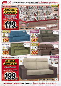 Ofertas de Sofás  en el folleto de Muebles Boom en León