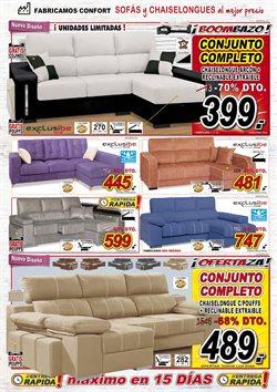 Ofertas de Chaise longue  en el folleto de Muebles Boom en Madrid