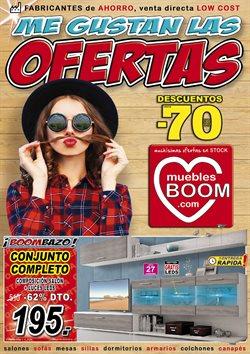 Ofertas de Muebles Boom  en el folleto de Gijón