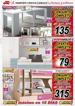 Ofertas de Cama nido  en el folleto de Muebles Boom en Madrid