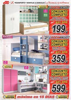 Ofertas de Dormitorios  en el folleto de Muebles Boom en Madrid