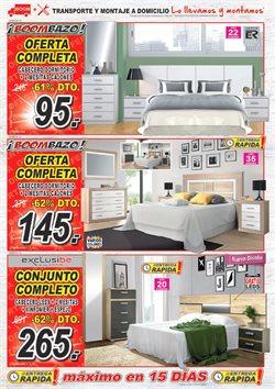 Ofertas de Estructura cama  en el folleto de Muebles Boom en Madrid