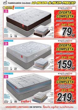 Ofertas de Colchones  en el folleto de Muebles Boom en San Sebastián de los Reyes