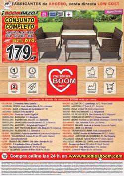 Ofertas de Muebles de jardín  en el folleto de Muebles Boom en Barcelona