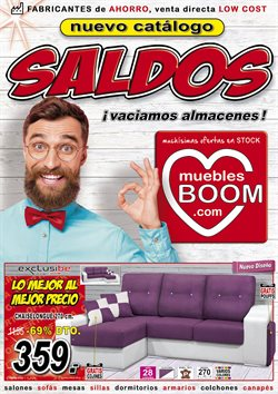 Ofertas de Muebles Boom  en el folleto de Avilés
