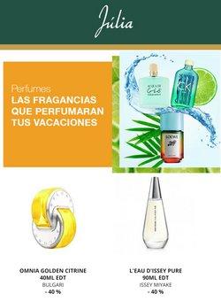 Catálogo Perfumerías Júlia ( Publicado ayer)