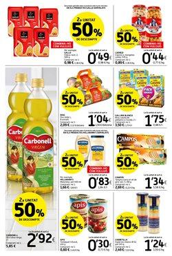 Ofertas de Pasta  en el folleto de Caprabo en Vila-seca