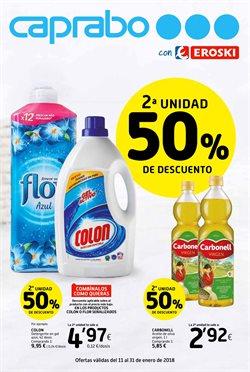 Ofertas de Hiper-Supermercados  en el folleto de Caprabo en Pamplona