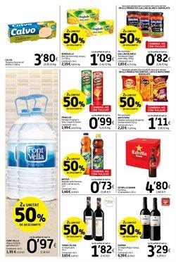 Ofertas de Agua  en el folleto de Caprabo en Barcelona