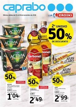 Ofertas de Aceite de oliva  en el folleto de Caprabo en Pamplona