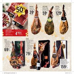 Ofertas de Carne y charcutería  en el folleto de Caprabo en Palamos