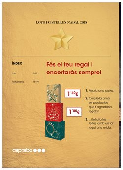 Ofertas de Material de papelería  en el folleto de Caprabo en Puigcerda