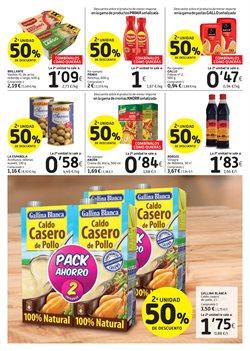 Ofertas de Pasta  en el folleto de Caprabo en Pamplona
