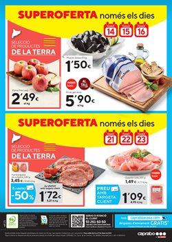Ofertas de Hamburguesas de pollo  en el folleto de Caprabo en Figueres