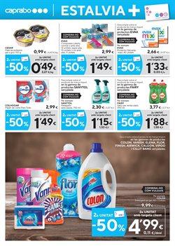 Ofertas de Detergente  en el folleto de Caprabo en Barcelona