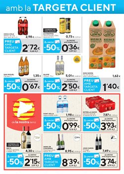 Ofertas de Cerveza  en el folleto de Caprabo en Girona