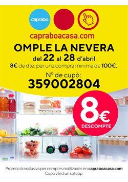 Ofertas de Hiper-Supermercados  en el folleto de Caprabo en Sant Boi