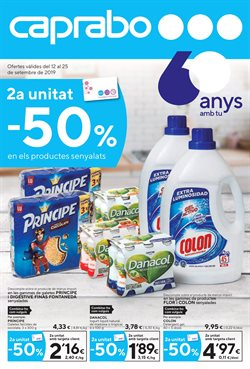 Ofertas de Hiper-Supermercados  en el folleto de Caprabo en Blanes