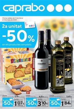 Ofertas de Hiper-Supermercados en el catálogo de Caprabo en Lloret de Mar ( 5 días más )