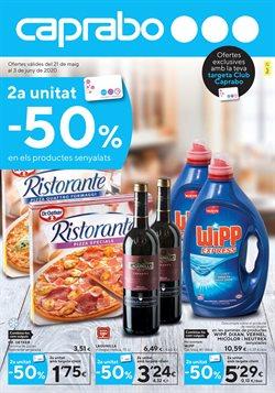 Ofertas de Hiper-Supermercados en el catálogo de Caprabo en Prat de Llobregat ( 5 días más )