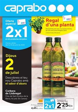 Catálogo Caprabo en L'Hospitalet de Llobregat ( 3 días publicado )