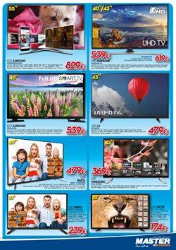 Ofertas de Televisores  en el folleto de Master Cadena en Palamos