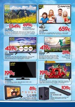 Ofertas de Panasonic  en el folleto de Master Cadena en Madrid