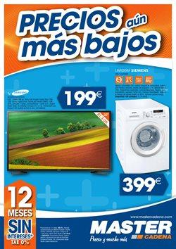 Ofertas de Tv led 32''  en el folleto de Master Cadena en Madrid