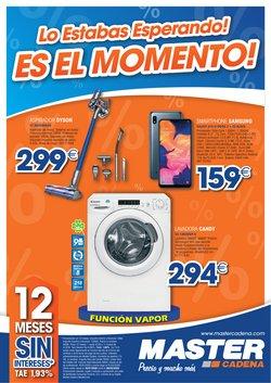 Ofertas de Master Cadena  en el folleto de Madrid