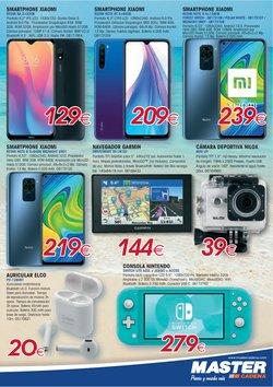 Ofertas de Smartphones Xiaomi en Master Cadena