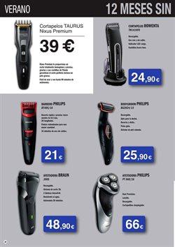 Ofertas de Máquina de afeitar  en el folleto de Milar en Madrid
