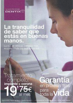 Ofertas de Salud y ópticas  en el folleto de Dentix en Gáldar
