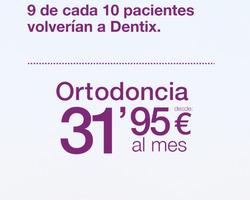 Ofertas de Dentix  en el folleto de Zamora