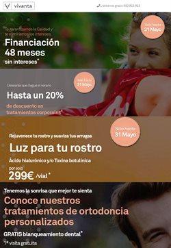 Ofertas de Salud y ópticas  en el folleto de Vivanta en A Coruña