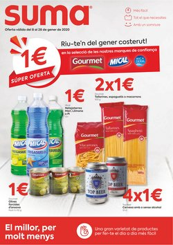 Ofertas de Suma Supermercados  en el folleto de Aiguaviva